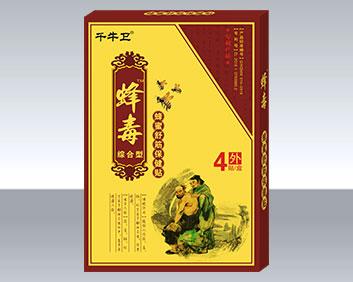 蜂毒综合型蜂蜜舒筋保健贴