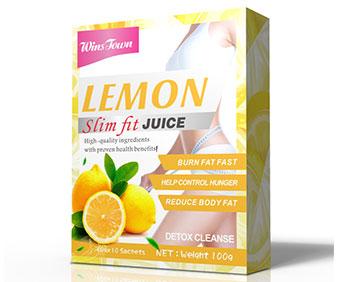 排毒减肥果汁柠檬美白补充能量跨境电商产品