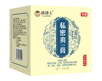郎博士私密爽膏30克/瓶..