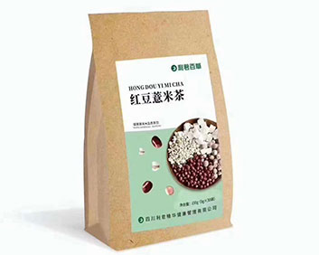 利君百草红豆薏米茶