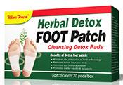 出口30贴每盒装足贴排毒贴脚贴竹醋Detox Foot Patch