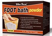 出口足浴粉泡脚粉排毒养颜跨境电商foot bath powder fit