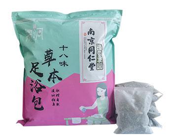 南京同仁堂绿金家园十八味草本足浴包