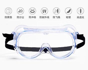透明全封闭隔离眼罩