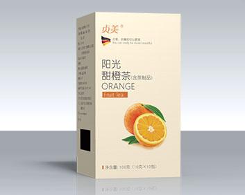 送礼产品橙子口味袋泡茶花茶万松堂oem定制出口