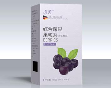 蓝莓味出口综合排毒茶oem定制万松堂