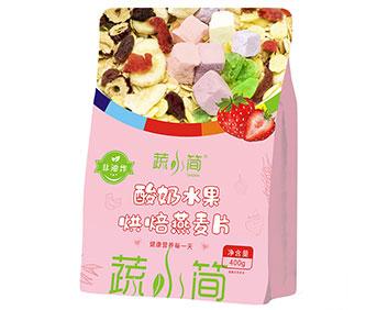 酸奶水果烘焙燕麦片