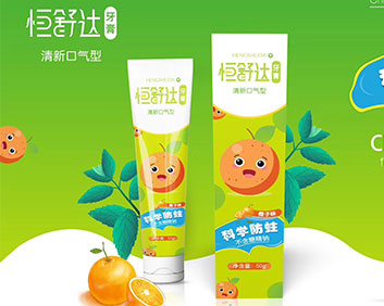 恒舒达牙膏(清新口气型)