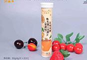 润柏年系列泡腾片手绘板(甜橙味)